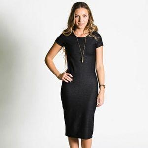 Lularoe XXS Solid Black Julia Dress